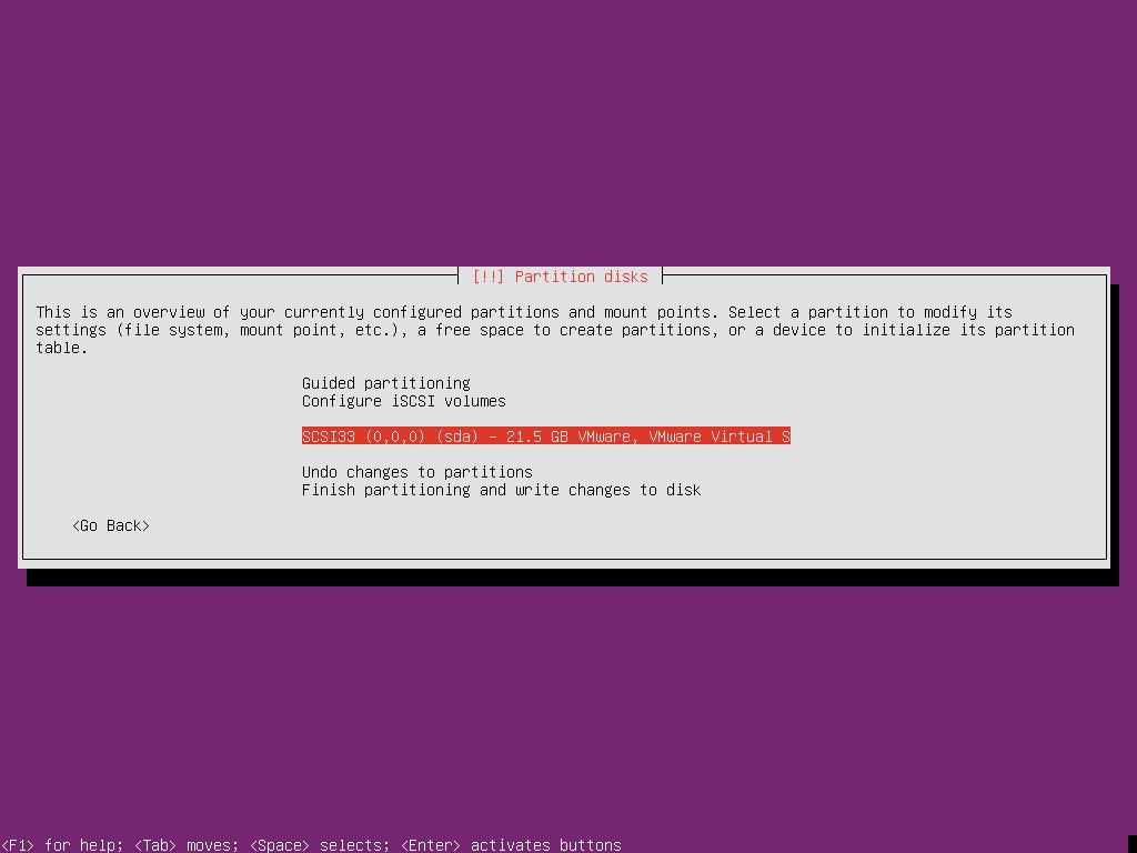 Ubuntu 18.10 Server UEFI-2015-01-22-20-50-57