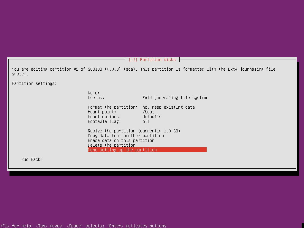Ubuntu 18.10 Server UEFI-2015-01-22-21-01-05