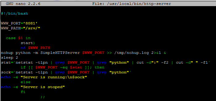 Use Python SimpleHTTPServer to Quickly Serve Filesystem