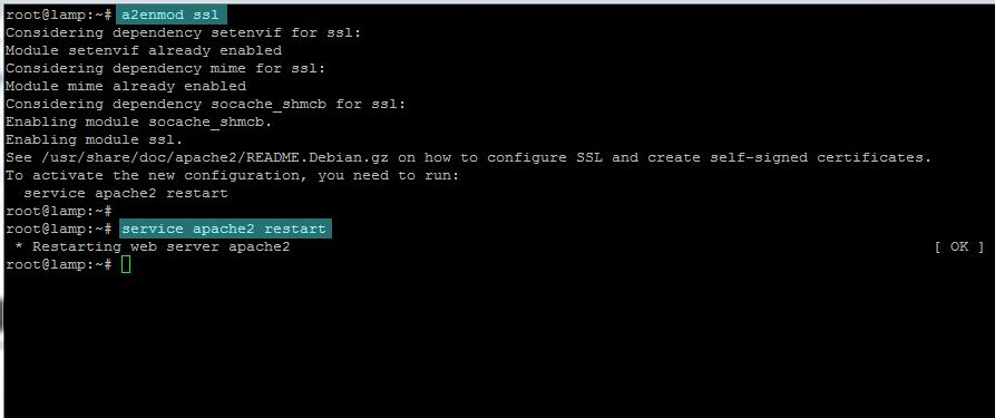 enable ssl module