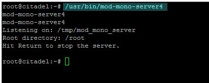 test mod-mono-server4